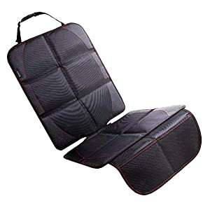 NEXSIA BABY チャイルドシート 保護マット 滑り止め 車 座席保護 シートプロテクター (600D素材,1点(保護マット))