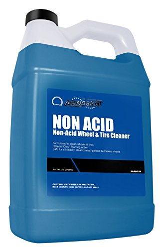 Nanoskin (NA-NAD128) Non Acid Non-Acid Wheel & Tire Cleaner - 1 (Acid Wheel Cleaner)