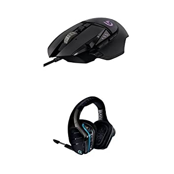 Logitech G933 Headset and G502 Gaming Mouse: Amazon co uk