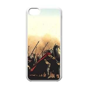 901 300 Art L funda iPhone 5C caja funda del teléfono celular del teléfono celular blanco cubierta de la caja funda EDGCBCKCO11970