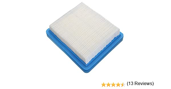 Filtro de papel de poliuretano azul filtro de aire Quantum motor ...