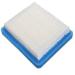 Filtro de aire azul del filtro de aire del cortacésped del papel ...