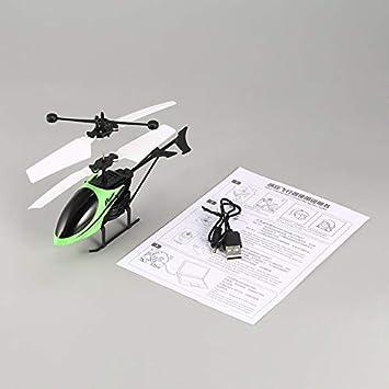 loonBonnie D715 Flying Mini Infrarrojo RC Helicóptero Drone ...