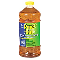 Clorox 41773 Pine-Sol Scent Liquid Cleaner Disinfectant Deodorizer Bottle 60-Ounce (Case of 6)