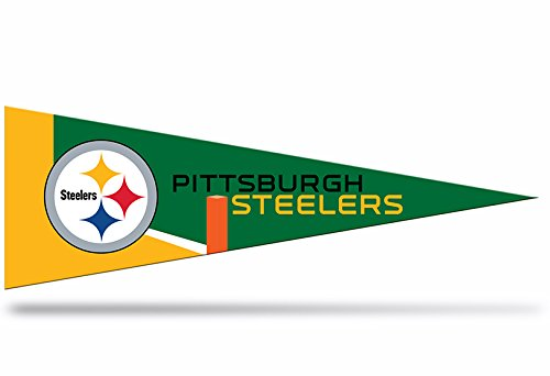 Zipperstop Official Licensed Pittsburgh Steelers NFL Small Pennant, 5