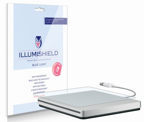 iLLumiShield–Apple-MacBook-SuperDrive-Screen-Protector-with-HD-Blue-Light-UV-Filter-Full-Body-Front-Back-Premium-High-Definition-Clear-Film-Reduces-Eye-Fatigue-and-Eye-Strain–Anti-Fingerprint-Anti-B