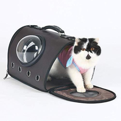 QKEMM Haustier Transporttasche für Hunde & Katzen Reise Reise Tragbar Transportbox Reisetasche für Haustiere Travel…