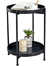 Round Coffee Table,Sofa Table,Cocktail Table,Nightstand,Bed Side,Metal Tray End,Living Room,Bedroom,Corner,Sun Umbreller,Home,Office,Balcony,Garden,Hotel,Restaurant