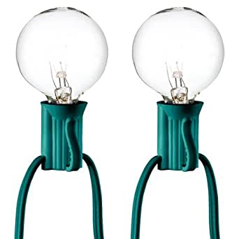 Room Essentials Clear Globe String Lights (25 Bulbs)