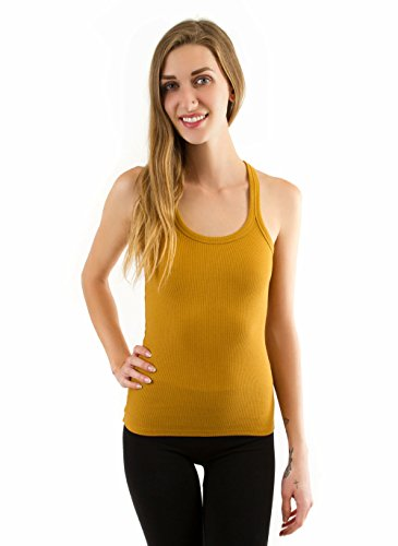 Double Zero Rib Knit Racerback Tank Top   Solid Color Layering Shirt Casual Basic Tank Tops