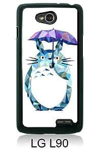 My Neighbor Totoro 15 Black New Customized LG L90 Phone Case