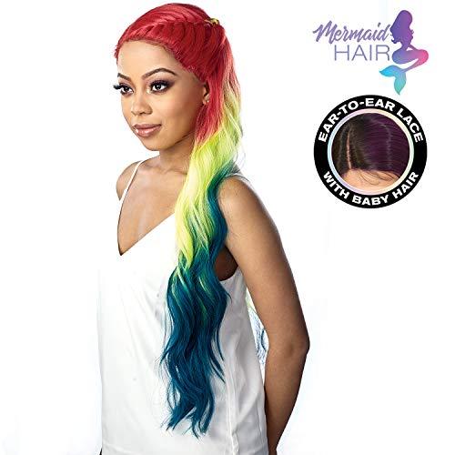 Sensationnel Synthetic Hair Lace Front Wig Shear Muse Deep Part Zen (MM/PEACOCK)
