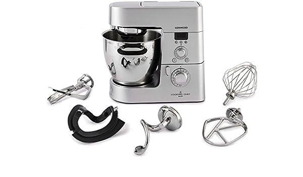 Kenwood Robot De Cocina Cooking Chef kenkm082 Capacidad 6.7 L potencia 1500 W Color Silver: Amazon.es: Hogar