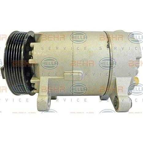 BEHR HELLA SERVICE 8FK 351 339-731 Compresor, aire acondicionado: Amazon.es: Coche y moto