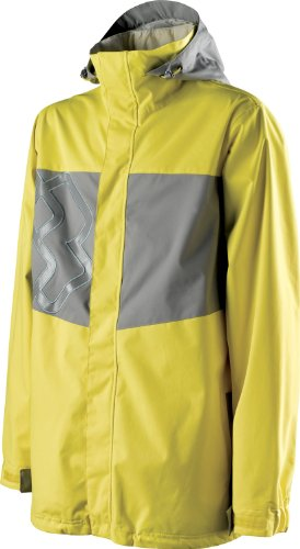 Beacon Snowboard - Special Blend Beacon Ski Snowboard Jacket Hello Yellow/Stoned Sz S