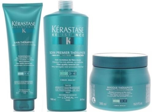 Pack Therapiste 9 : Bain 450ml + Masque 500ml + Premier 1000ml Kerastase Good Care Hair