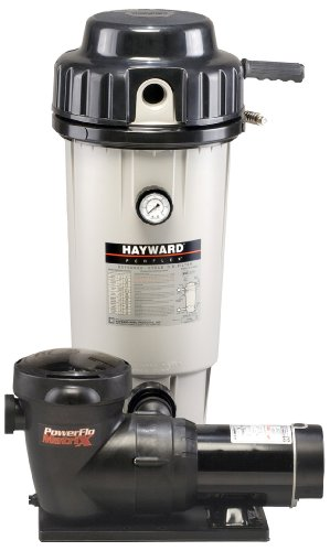 Hayward EC50C92STL Perflex 1 HP D.E. Filter Pump System , Twist Lock Cord