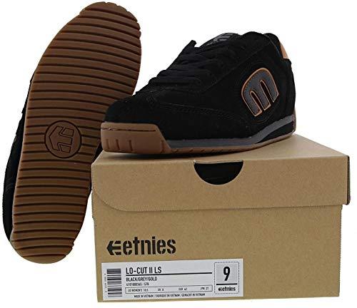 4101000365 465 Lo para de Cut cuero Black II LS skate Etnies hombre Gold Grey de Zapatillas PxIqRXp