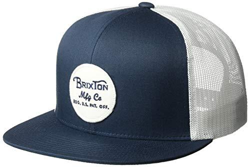 08dabc653b3 Brixton Men s Wheeler Medium Profile Adjustable Snapback Hat - 316 ...