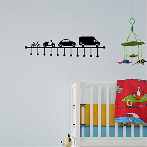 Pauzip Removable Wall Decals Inspirational Vinyl Wall Art French Véhicules De Locomotion Pour Chambre D'Enfants Vehicles of Locomotion for Kids Room