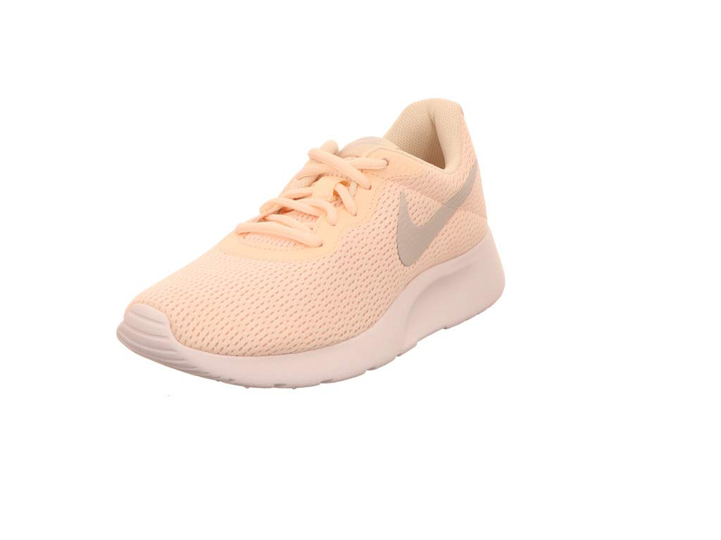 Nike Wmns Tanjun, Zapatillas para Mujer 38 EU|Amarillo (Guava Ice/Vast Grey-white 800)