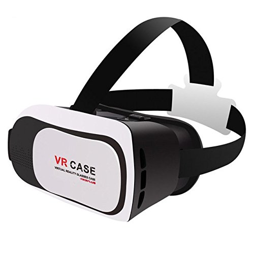 2016 Google cardboard VR BOX 3.0 Version VR Case Virtual Reality 3D Glasses For 3.5 - 6.0 inch Smartphone+Bluetooth Controller