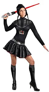 Adult Darth Vader Dress Costume (X-Small)