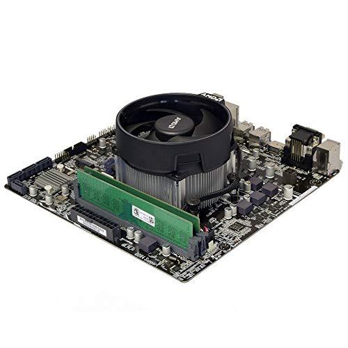 ADMI CPU Motherboard Bundle: AMD Ryzen 5 3400G 4.2GHz with Radeon Vega 11 Graphics, ASUS Prime A320M-K Motherboard, 8GB 2400Mhz DDR4 RAM