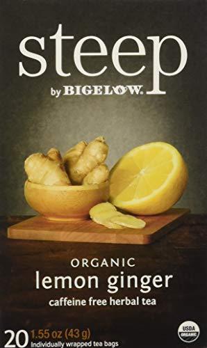 Bigelow Tea Steep Lemon Ginger Organic, 1.6 oz