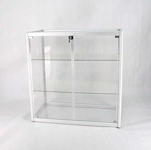 Aluminum Glass Display Showcase, Sliding Door with Locks ...