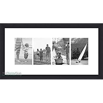 Amazoncom Gallery Solutions Photo 10x20 Flat Wall Frame With