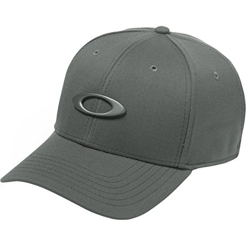 Oakley Men's Tincan Cap Hat, Grigio Scuro, - Twenty Sunglasses Oakley