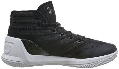 Under Armour chasure de basketball stephen currynoir pointure Black/White/White