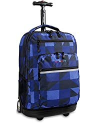 J World SUNDANCE 19.5 Rolling Backpack with Laptop Sleeve