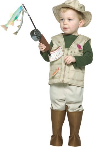 Future Fisherman Child Costumes - Future Fisherman Toddler Costume - Toddler