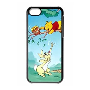 iPhone 5c Cell Phone Case Black Tigger & Pooh and a Musical Too S0391083