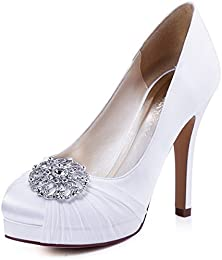 Amazon.com: White - Pumps / Shoes: Clothing- Shoes &amp- Jewelry