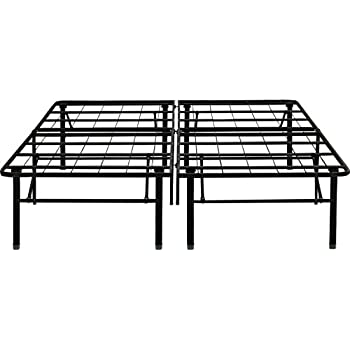 Amazon Com Flex Form Raised Platform Bed Frame Base Metal