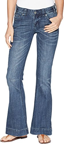 Rock and Roll Cowgirl Women's Trousers in Medium Vintage W8-6673 Medium Vintage 28 32 ()