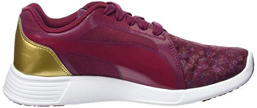 Puma ST Trainer Evo Gleam Jr-Chaussure Fille Violet taille 37