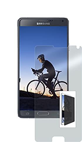 OtterBox Alpha Glass Case for Samsung GALAXY Note 4 - Retail Packaging - Clear Privacy (Clearly Protected Tinted (Glass Privacy Screen For Note 4)