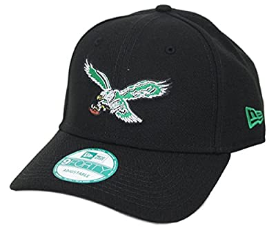 """Philadelphia Eagles New Era 9Forty NFL """"Throwback"""" Adjustable Hat"""