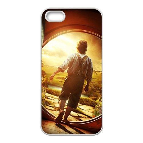 The Hobbit An Unexpected Journey 2012 coque iPhone 4 4S cellulaire cas coque de téléphone cas blanche couverture de téléphone portable EOKXLLNCD20106