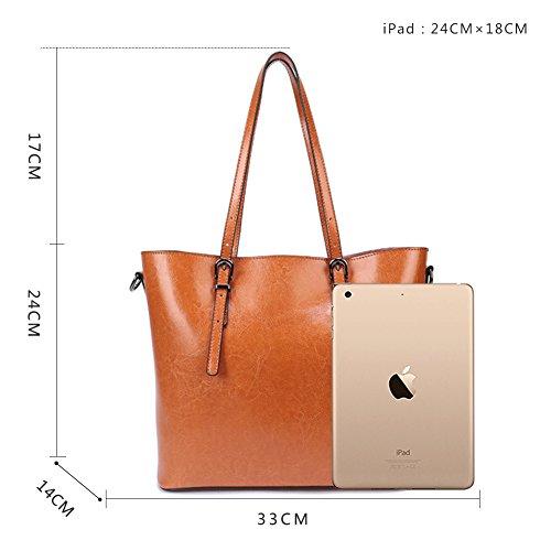 G Aktentasche Business Handtasche ITALY Braun Umhängetasche für Tasche MADE IN Laptoptasche AVERIL Ledertasche Damen rvUqHY5wr