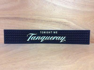 Tanqueray Bar Rail Spill Mat -Green NEW