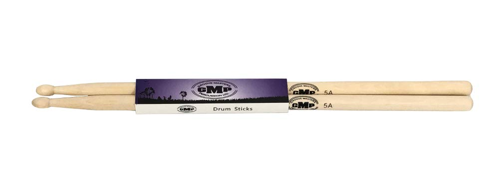 GMP 5A Wood Tip Drumsticks 12 pair from World Drum Source