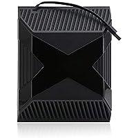 HOBFU Detección automática del Ventilador de refrigeración para Xbox una Consola de Control de Temperatura del refrigerador del USB,Negro