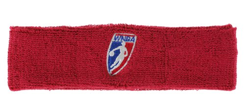 WNBA Offical Womens Basketball Headband (Red)