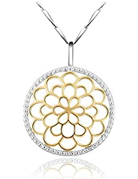 925 Sterling Silver and 18K Gold Bali Inspired Celtic...