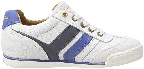 Pantofola dOro Vasto Ragazzi Low, Zapatillas Para Niños Blanco (Bright White)